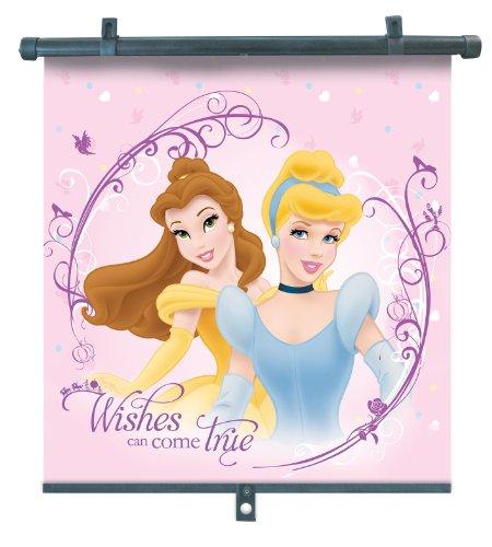 Disney 29055 Prinzessinnen Aufrrollbares Auto-Sonnenschutz Set