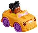 Mattel Fisher Price Little People Mädchen Auto orange