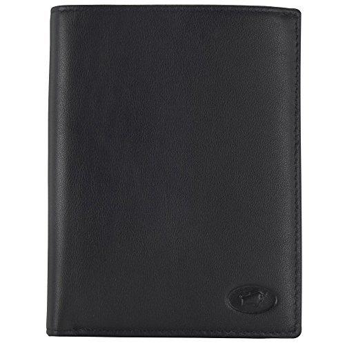 Braun Büffel Arizona Porte-monnaie cuir 10 cm noir