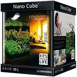 Nano Cube Juego completo de acuario 30L plantas de peces tropicales