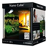 Nano Cube Aquarium-Komplett-Set 30Liter Fische Pflanzen Tropical