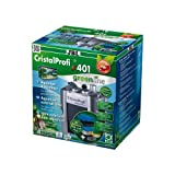 JBL CristalProfi e 401 greenline 60200 Außenfilter für Aquarien von 40 - 120 Litern, (EU Stecker)