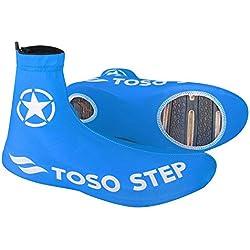 Cubiertas de Zapatos de Bicicleta 1 Par Cubrezapatos a Prueba de Arena a Prueba de Agua para Ciclismo al Aire Libre(M)