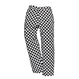 Portwest Harrow Chef Trousers Houndstooth Black/White M 31'