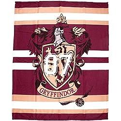 Juego de fundas de edredón con diseño de Harry Potter. Manta individual y doble para niños y adolescentes. , Harry Potter Hogwarts, Blanket 100 X 150cm