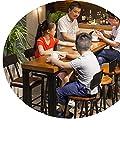 chair Bar-Stehtisch, Einfache Wohnzimmerbar, Moderner Langer Tisch, Hoher Teeshop, Couchtisch,140 * 40 105 *,Tabelle