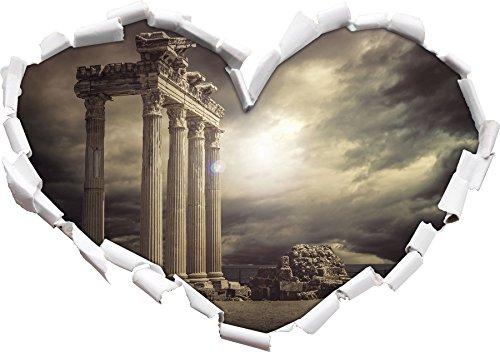 Apollon Temple Ruins a forma di cuore