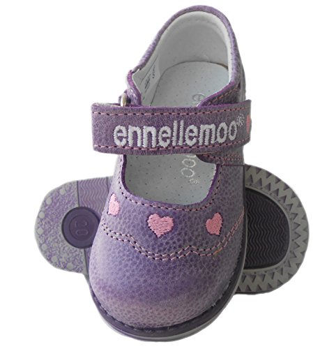 ennellemoo®  Made in EU , Ballerines / Chaussons bébé fille Violett/Rose
