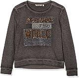 Garcia Kids Mädchen Sweatshirt U62466, Schwarz (Off 1755), 164 (Herstellergröße: 164/170)