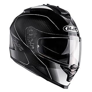 I7ABS - HJC IS-17 Arcus Motorcycle Helmet S Black (MC5)