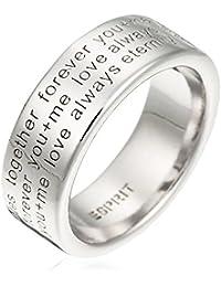Esprit - 42084049 - Message Mania - Bague Femme - Argent 925/1000 9.6 gr