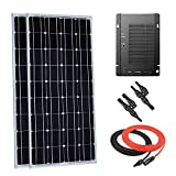 Giosolar 200 Watt 12 Volt Monocrystalline Solar Panel Kit with 40A MPPT Solar Controller for RV Boat Off-Grid Battery System
