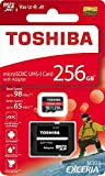 Toshiba 256GB 256g Exceria M303con microSD microSDXC UHS-I U3card 4K...