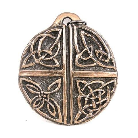 Bronze Amour Croix Celtique Décoration