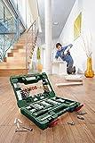 Bosch DIY 91tlg. V-Line Titanium-Bohrer- und Bit-Set mit Ratschen-Schraubendreher und Magnetstab -