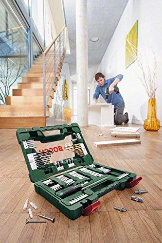 Bosch DIY 91tlg. V-Line Titanium-Bohrer- und Bit-Set mit Ratschen-Schraubendreher und Magnetstab - 4