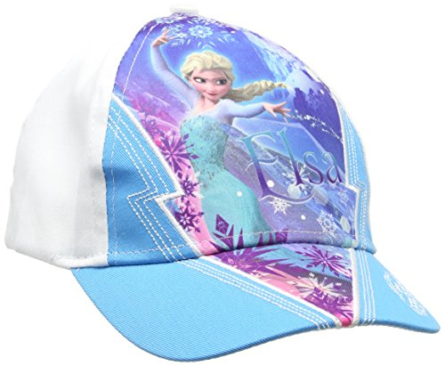 Disney frozen berretto, blu (blue 16-4535tc), unica (taglia produttore:54) bambina