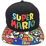 Super Mario basebollkeps Super Mario perifer Mario hatt svamp bröder män och kvinnor vuxen trend hiphop baseballkeps
