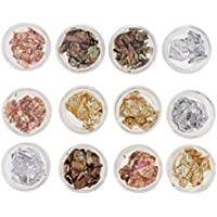 D DOLITY Nails Art Foil Sticker Gradient Manicure Transfer Decal Nail Art Tips Charms