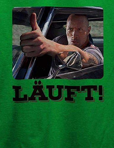 Laeuft 79 T-Shirt Grün