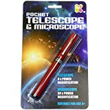 Pocket telescope & microscope spy toy