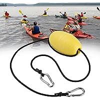 Kayak Drift Anchor Tow Cuerda Nylon Tow Line Throw Rope con EVA Buoy Anchor Boya Clips de Acero Kayak Accesorio