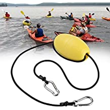 Kayak Drift Anchor Tow Cuerda Nylon Tow Line Throw Rope con EVA Buoy Anchor Boya Clips