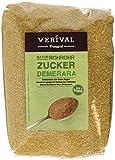Verival Rohrohrzucker Demerara, 6er Pack  (6 x  1 kg Beutel)