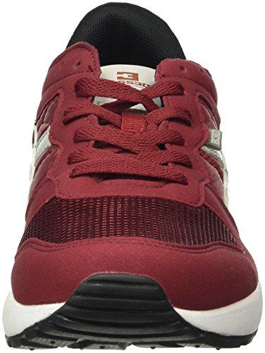 Xti 40081, Baskets Basses Homme Rouge - Bordeaux