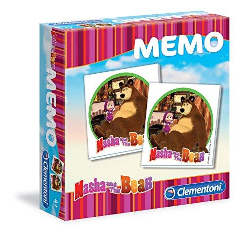 Clementoni 13316 - Masha e Orso Memo Gioco Classico