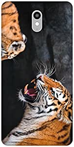 The Racoon Lean printed designer hard back mobile phone case cover for Lenovo Vibe X3. (the tiger)