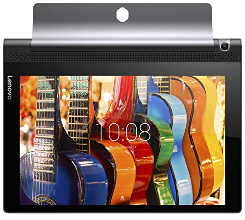 Lenovo YOGA Tablet 3-10 25,65 cm (10,1 Zoll HD IPS) Convertible Media Tablet (QC MSM8909 Quad-Core Prozessor, 1,3GHz, 2GB RAM, 16GB eMMC, 8MP Kamera, Touch, Dolby Atmos, LTE, Android 5.1) schwarz