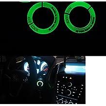 Adhesivo luminoso para el contacto del coche