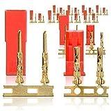 partCore BEC JST Steckverbinder Stecker Buchse Goldkontakte 10 Paar