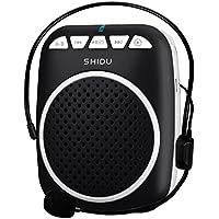 Zoweetek® Amplificador Voz portátil Ultraligero con Clip de cinturón, Formato MP3 Audio para guías, Profesores, Entrenadores, presentaciones, Etc.