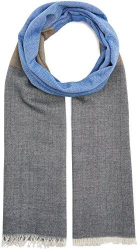 s.Oliver Herren Schal 97709915040 Blau (Blue Stripes 56G1), One Size