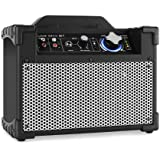 DJ-Tech Mini Cube BT Altavoz PA portátil bluetooth USB Negro