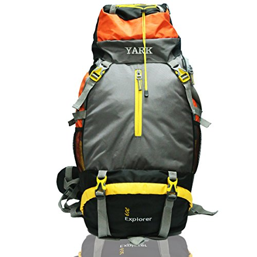 Yark Duratuff Orange & Grey 60 Ltrs. Rucksack