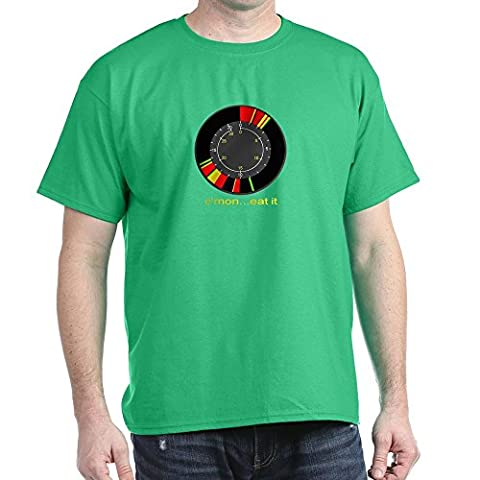 CafePress - LS Ice Fishing Flasher Shirt &Quot;C'mon...Eat It& - 100% Cotton T-Shirt