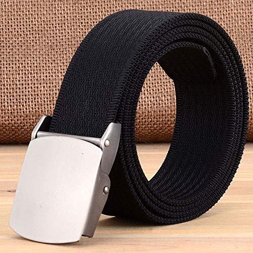 PIDAIKING Belt Male Fashion Tactical Nylon Belt Casual Straps Canvas Striped Belts for Men & Women Jeans,110 Womens Webbing Belt