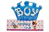 Toyshine Boy Birthday Candle for Cake (B...