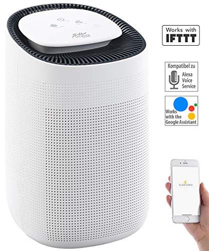 Sichler Haushaltsgeräte Luftentfeuchter mit App: 2in1-Luftreiniger & Entfeuchter, für Amazon Alexa & Google Assistant (Luftentfeuchter App Steuerung)