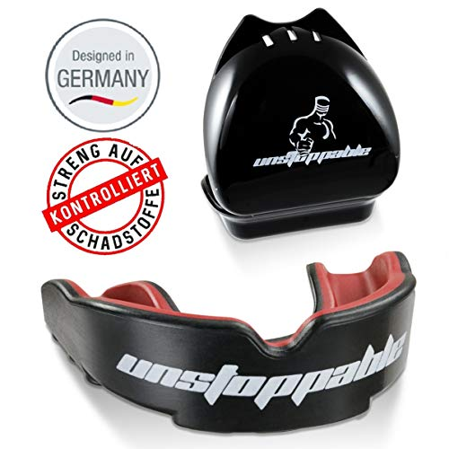 Unstoppable Mundschutz|Performance|Allrounder|Box+Anleitung|Designed in Germany
