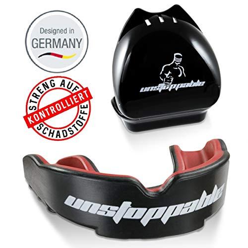 Unstoppable Mundschutz|Performance|Allrounder|Box+Anleitung|Designed in Germany (Boxen Mundschutz)