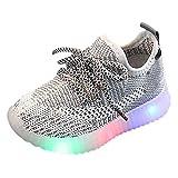 Vovotrade Unisex-Kinder LED Sneakers Mode Blinkschuhe Low-Top Casual Outdoor Sneakers Laufschuhe Sportschuhe Hallenschuhe für Jungen und Mädchen By