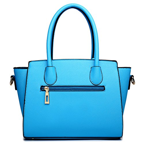 Miss Lulu ,  Damen Tornistertasche 1625 Blue/White