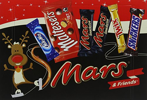 Mars Medium Selection Box, 181 g - Pack of 8