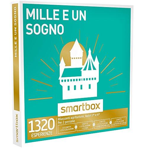 Smartbox - mille e un sogno - rilassanti agriturismo 3* e 4*, cofanetto regalo gastronomici