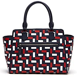 Lacoste Daily Classic Animation Shopping Bag Red