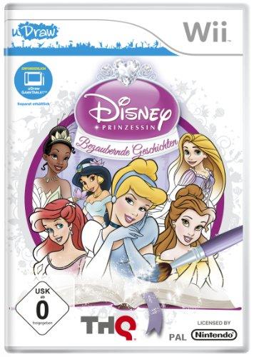 Disney Prinzessin - Bezaubernde Geschichten (uDraw erforderlich) - Teen-wii-spiele
